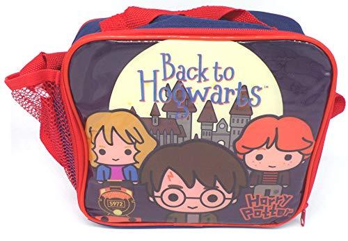 TDL Harry Potter Isolierte Kühltasche - Offiziell Lizensiert - 20 x 18 x 9 cm - Zip-Verschluss - Tragegurt - Insulated Lunch Bag