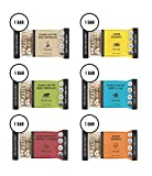 Kate's Real Food Granola Bars 6 Pack | Variety Pack 1 of Each Flavor | Clean Energy, Organic...