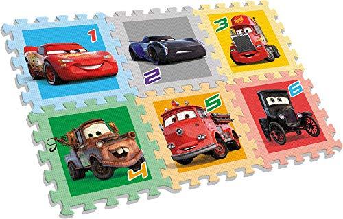 Cars Alfombra Puzle Eva 6 piezas de   Alfombras de juego y gimnasios