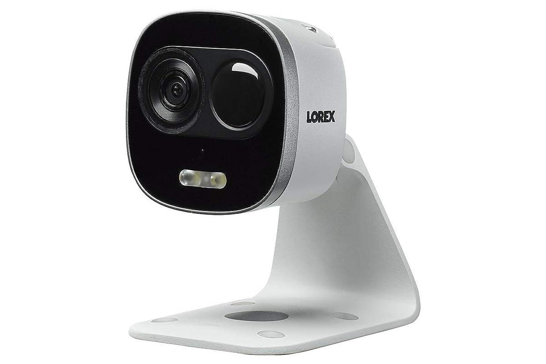 Lorex 4K 8MP IP Two-Way Talk, Deterrence Security Camera,130ft Night Vision. Dual Warning Lights
