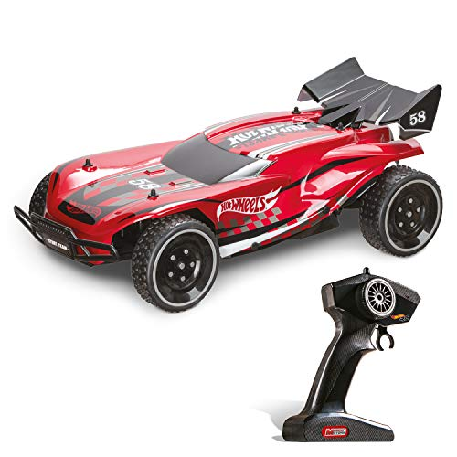 Mondo Motors - Hot Wheels New Gator - macchina radiocomandata per bambini in scala 1:10 - 2.4 Ghz - 63652