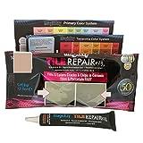 MagicEzy Tile REPAIRezy: Kit di riparazione rapido per piastrelle in ceramica, per schegge e buchi, sigillante per piastrelle spesse, beige
