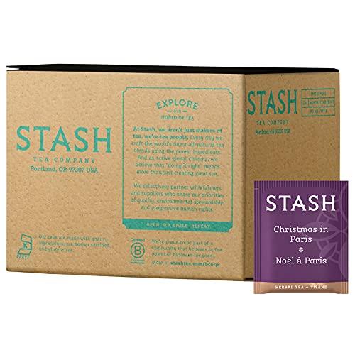 Stash Tea Christmas In Paris, Box of 100 Tea Bags
