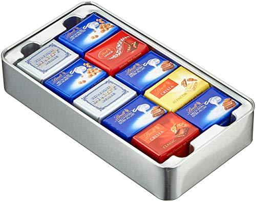 Lindt Swiss Classic Collection Box CH Kreuz, Mini Schokoladentafeln (1 x 185 g)