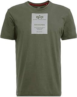 ALPHA INDUSTRIES Men's Reflective Label T Undershirt
