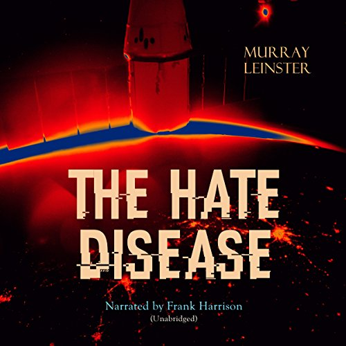 The Hate Disease audiobook cover art