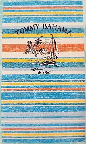 "tommy bahama beach towel 75""X40"" 100/% Cotton NEW"