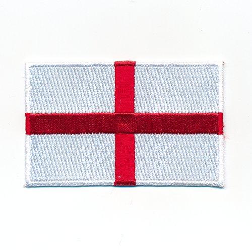 30 x 20 mm England London Birmingham GB Flagge Flag Aufnäher Aufbügler 1063 Mini