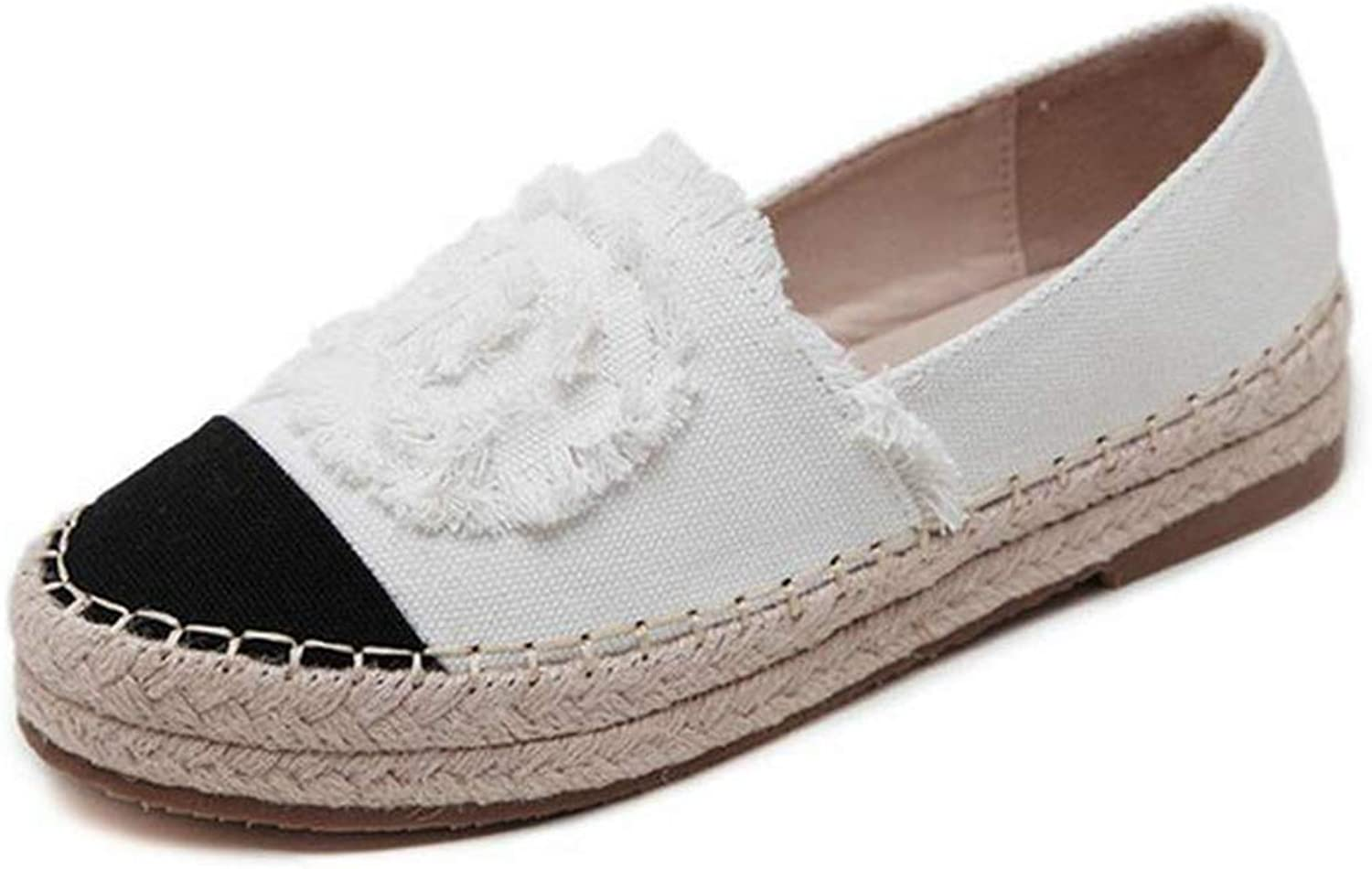 T-JULY Fashion Comfortable Seasons Women Espadrilles shoes Flats Summer shoes Slides Ladies Woman Casual Loafers High