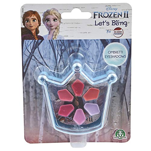 Giochi Preziosi Disney Frozen 2, Make Up Let's Blilng Smalti e Eyeshadow Blister, Modelli Assortiti