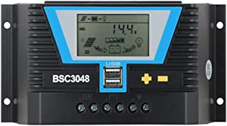 ライトデュアルタイムコントロールとUSBのバックライト - LCDリチウム電池レギュレータ120A 30A 60A PWMソーラーコントローラ12V 24V 36V 48 Vバックライト-LCDリチウム電池レギュレータ (Current : 2...