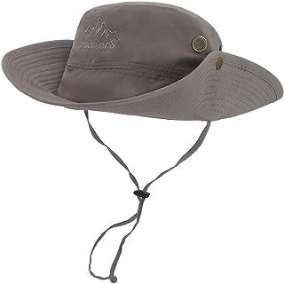 Outdoor Waterproof Boonie Hat Wide Brim Breathable Hunting Fishing Safari Sun Hat