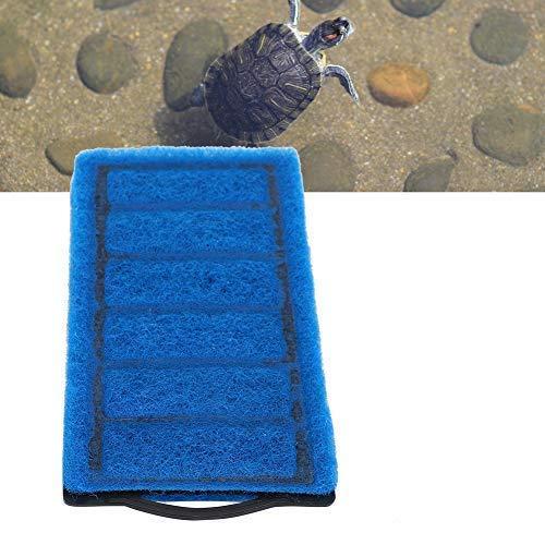 【𝐏𝐫𝐨𝐦𝐨𝐜𝐢ó𝐧 𝐝𝐞 𝐒𝐞𝐦𝐚𝐧𝐚 𝐒𝐚𝐧𝐭𝐚】Cartuchos de carbón de tanque de tortuga de filtro, cartuchos de filtro de tanque, cartuchos de filtro de tanque azul, para acuario