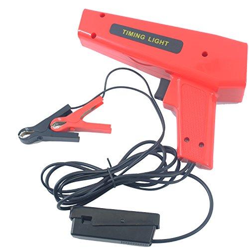 CCLIFE 12V/10W Pistola Estroboscopica pistola estroboscopica digital Pistol Grip Xenon Timing Light