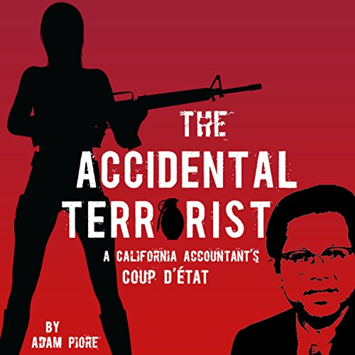 The Accidental Terrorist audiobook cover art