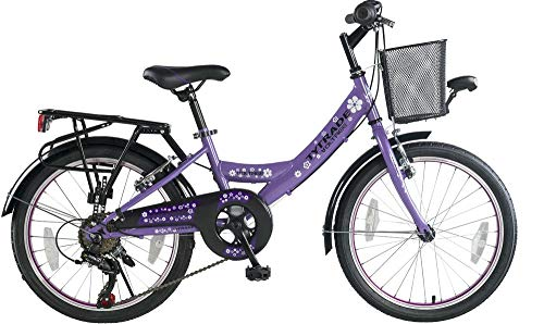 k 20 Zoll Kinder City Fahrrad Kinderfahrrad Cityfahrrad Bike Rad Mädchenfahrrad Mädchenrad Bike 7 Shimano Gang Voltage Lady LILA TYT19-042