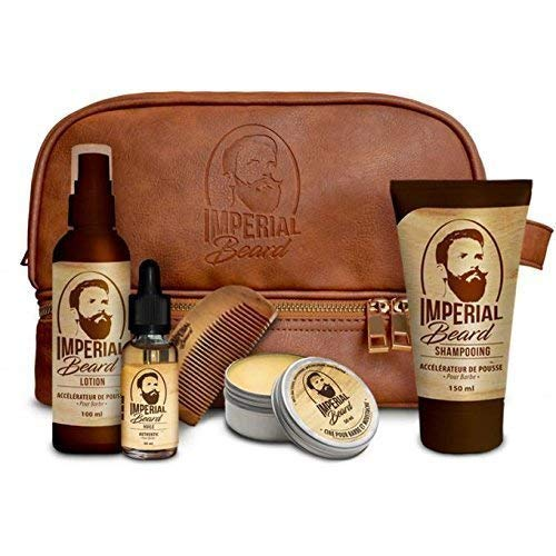 Imperial Beard Estuche con tratamientos para aumentar el volumen de la barba