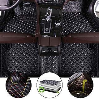for 2011-2017 Jeep Wrangler 4-Door Floor Mats 3D Full Protection Car Accessories Beige 3 Piece Set