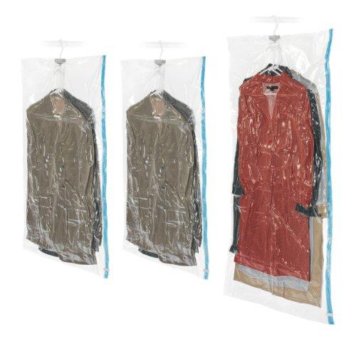 Whitmor 3 Piece Spacemaker Hanging Vacuum Sealed Storage Bags