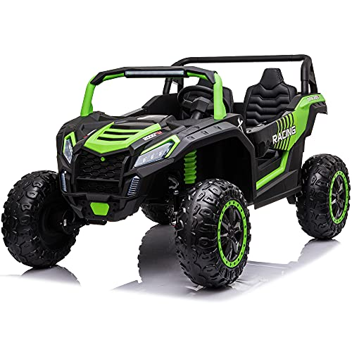 sopbost 24V Ride On UTV 4x4 Ride On Off-Road Buggy with Rear...