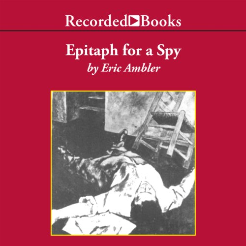 Epitaph for a Spy audiobook cover art