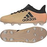 Adidas X 17.2 FG, Botas de fútbol para Hombre, Amarillo (Ormetr/Negbas/Rojsol 000), 42 EU