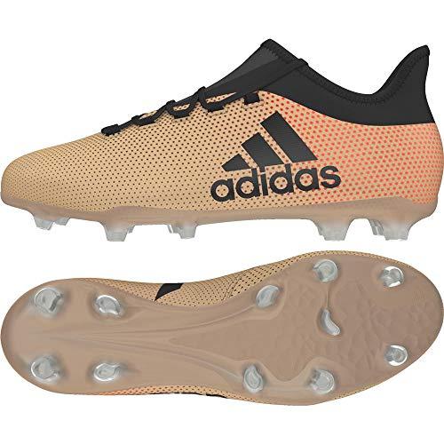 adidas Herren X 17.2 FG Fußballschuhe, Gold Gold Schwarz Gold Schwarz, 44 EU