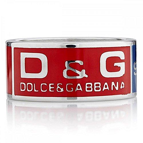 Dolce & Gabbana Dolce&Gabbana DJ0462 - Anillo de Hombre de Acero Inoxidable (Talla: 25)
