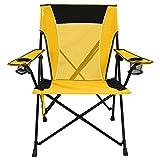Kijaro Dual Lock Portable Camping and Sports Chair, Izamal Yellow