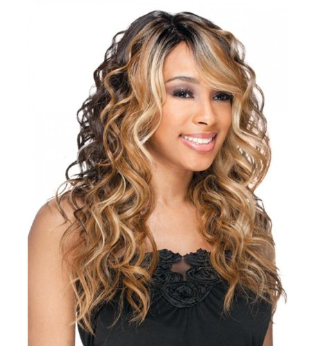 Freetress Equal Freetress Equal Deep Invisible Part Lace Front Wig Bently OH227144 by Equal