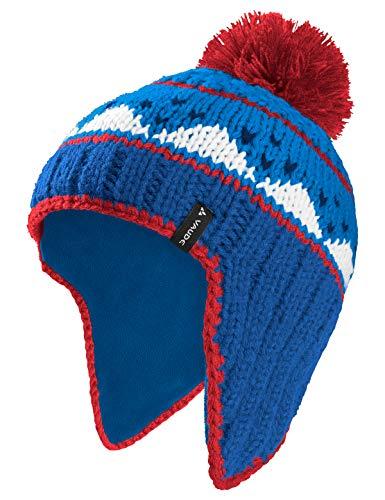 VAUDE Kinder Kids Knitted Cap IV Mütze, Signal Blue, M