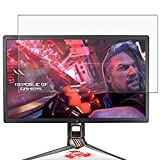 Puccy 2 Pack Anti Blue Light Screen Protector Film, compatible with Asus ROG Swift PG27UQ 27' Display Monitor TPU Guard ( Not Tempered Glass Protectors )
