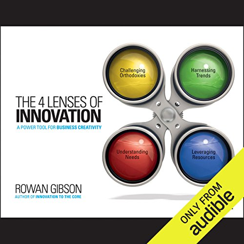 The 4 Lenses of Innovation audiobook cover art