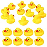 LOVEXIRAN 50 pcs Mini Yellow Rubber Duck Party Decoration, Bath Toy Rubber Duck, Pool Toy Rubber Duck, Baby Shower Decoration, Squeaky Duck Toy, Safe Children Toy