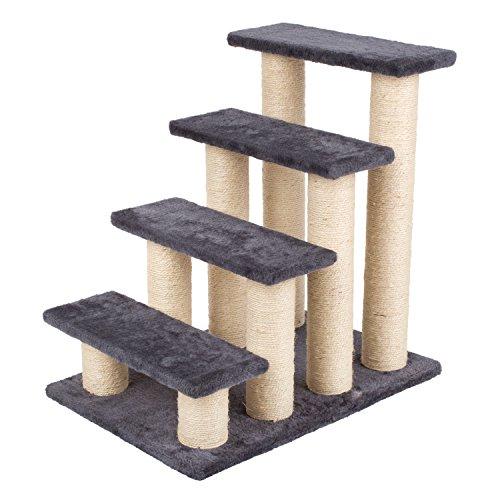 pedy Stabiler Kratzbaum Kratzbett Kletterbaum Katzenkratzbaum Katzenmöbel (Modell fünf)