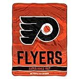 The Northwest Company NHL Philadelphia Flyers 'Break Away' Micro Raschel Throw Blanket, 46' x 60' , Orange
