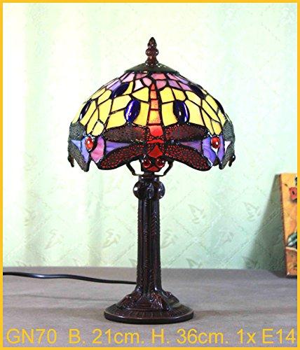 Graf von Gerlitzen Tiffany Stand Tisch Lampe Tischlampe Tiffanylampe GN70