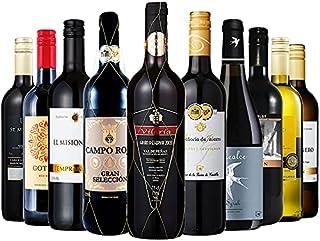 お手頃 赤 白 ワイン 10本セット ワインセット 辛口 ミックス