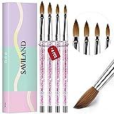 Saviland Acrylic Nail Brush Set - 4pcs...