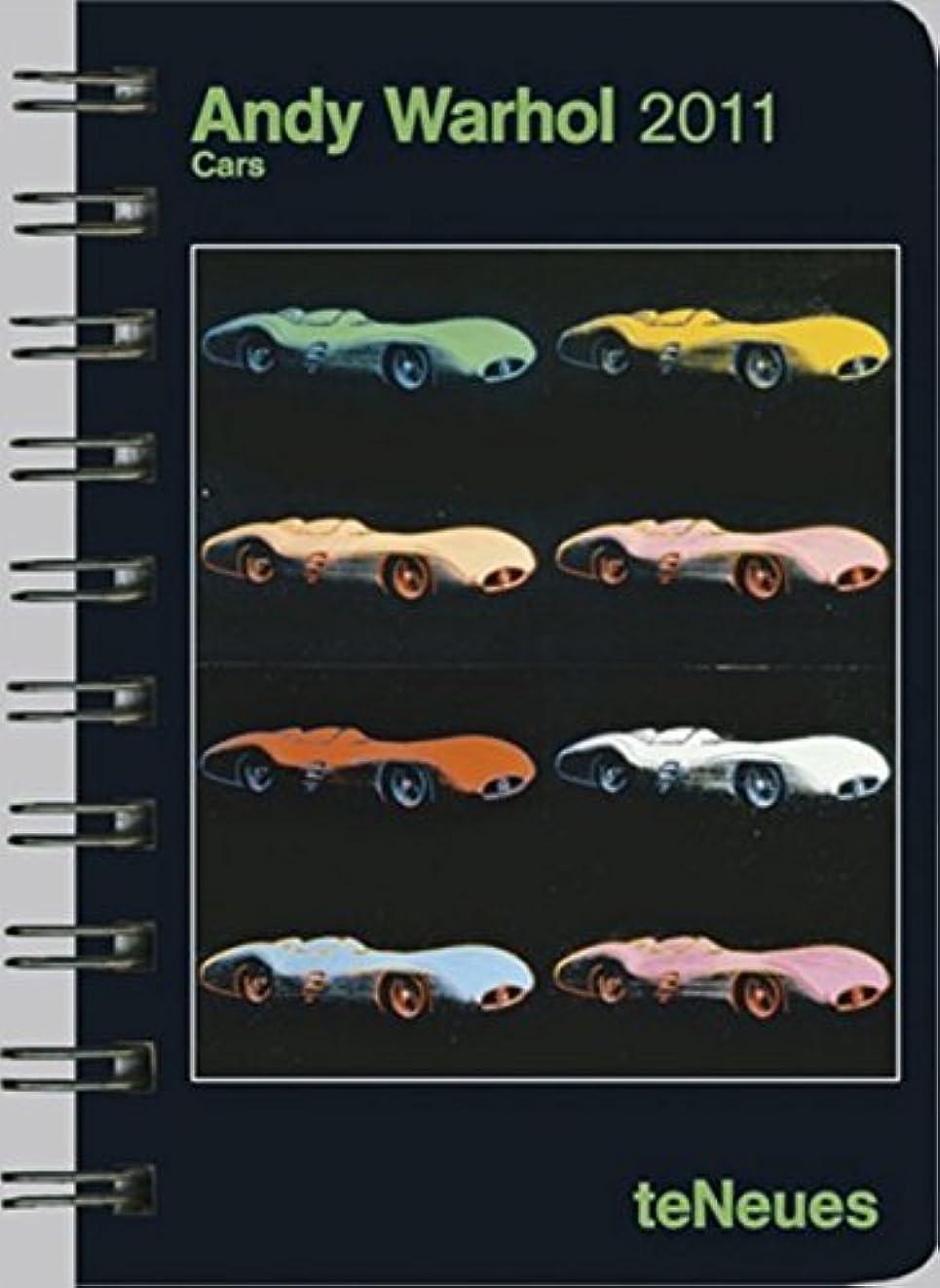 日焼け瞳五2011 Andy Warhol Cars Pocket Engagement Calendar