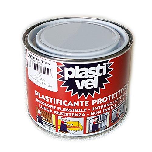 PLASTIFICANTE A PENNELLO TRASPARENTE PLASTIVEL 500 ML IMPERMEABILIZZANTE