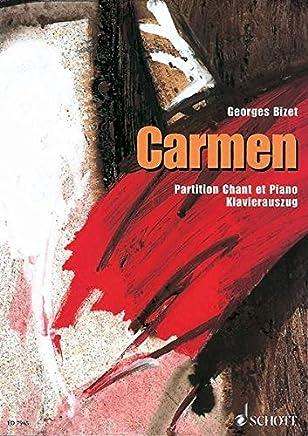 Carmen Piano Vocal Score