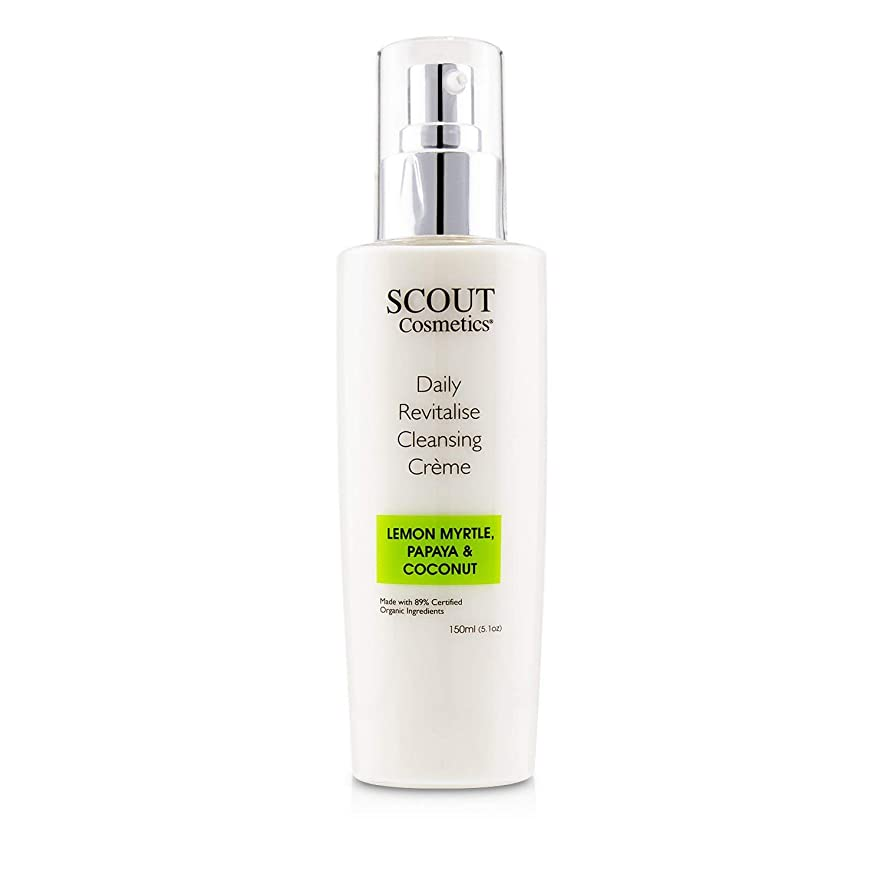 雷雨ナイトスポットアンタゴニストSCOUT Cosmetics Daily Revitalise Cleansing Creme with Lemon Myrtle, Papaya & Coconut 150ml/5.1oz並行輸入品
