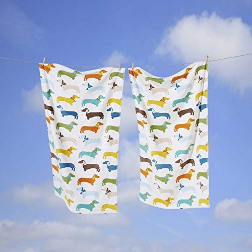 Rapport - Asciugamano in 100% cotone, multicolore, 70 x 120 cm