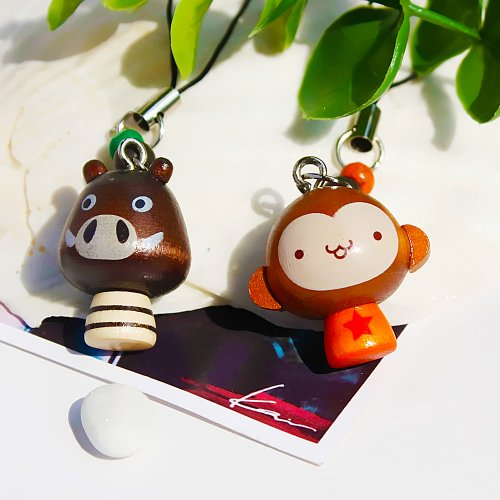 Blancho [Mini Animal-3] – Cell Phone Charm Strap/Camera Charm Sangle/sacs à main Charms