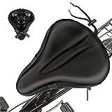 Funda Sillin Bicicleta Gel - fundas para sillin bici cómodo - Cubierta de Asiento de Bicicleta para asiento de bicicleta de montaña al aire libre y protección de sillín bicicletas de interior