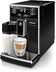 Saeco PicoBaristo HD8925 / 01 coffee machine (220 W, integrated milk system) black