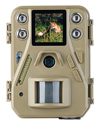 VisorTech Jagdkamera: HD-Mini-Wildkamera mit Farbdisplay & Infrarot-Nachtsicht, 12 MP, IP66 (Beobachtungskamera)