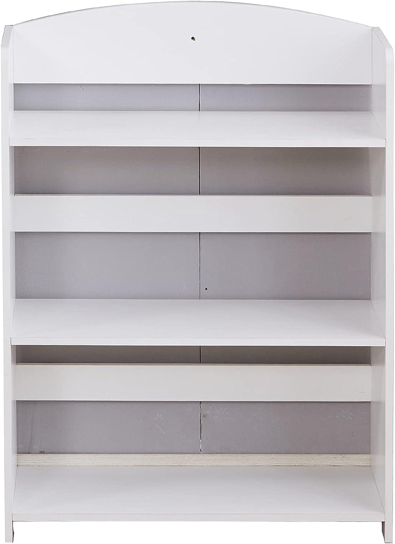free shipping Wooden 4 Tier Storage Unit Popular brand Bathroom Standing Shelf, Bo Display