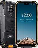 (2020) 4G Rugged Smartphone DOOGEE S68 Pro, 6300mAh Big Batteria, 21MP+16MP triple Fotocamera, 5,9'' FHD+, Helio P70 6GB+128GB Cellulari in Offerta, Impermeabile Antiurto IP68, NFC, GPS, WiFi, Arancia